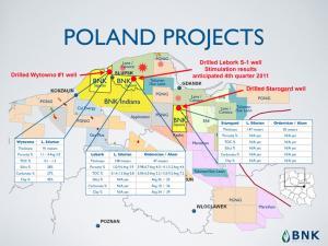 BNK Petroleum desiste de sus inversione en Polonia