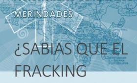 Tríptico informativo sobre efectos del fracking en la salud