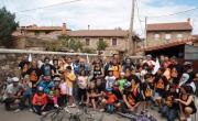 Crónica de actividades estivales en Valderredible. Fracking No Cantabria