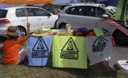 Campaña informativa sobre el fracking en las playas de Cantabria