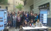 Rueda de prensa de la iniciativa legislativa popular contra el fracking de la Plataforma Fracking Ez Araba