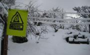 Ni la nevada pudo con nuestra determinación. Fracking. Cantabria