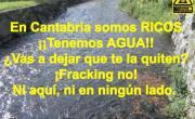 Agua, petróleo del S.XXI. No al fracking.