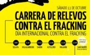 Sábado 11 de octubre. Carrera de relevos Selaya-Santander y concentración en Santander contra el fracking
