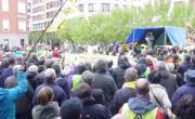 Concentración antifracking frente al Ente Vasco de la Energia e Hidrocarburos de Euskadi (SHESA)