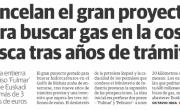 Cancelado el proyecto para buscar gas en aguas profundas del Golfo de Bizkaia (permiso Fulmar)