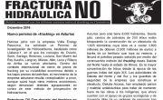 Publicada la hoja informativa de diciembre de 2016. Fracking. Cantabria