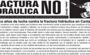 Publicada la hoja informativa de julio de 2016. Fracking. Cantabria