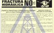 Publicada la hoja informativa de marzo de 2016. Cantabria. Fracking No