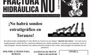 Publicada la hoja informativa de marzo de 2015. Fracking Cantabria