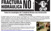 Publicada la Hoja Informativa de agosto de 2014. No fracking Cantabria