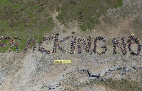 Un gran día en la romería de Mozuelos de Sedano. Fracking no Burgos