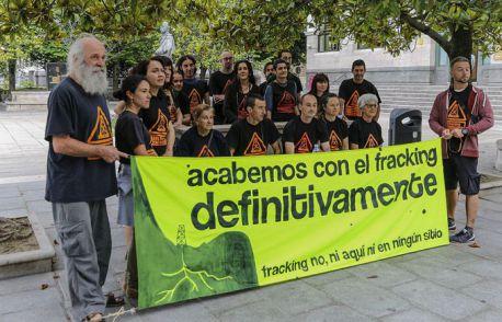 Exigimos la inmediata extinción de los permisos Bezana y Bigüenzo debido a su caducidad. Fracking. Cantabria