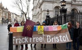 Bristol contra el fracking en Cantabria