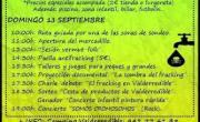 Festival antifracking de Valderredible. Camping de Polientes. Cantabria