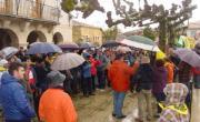 Más de 300 personas se concentran en Nofuentes (Merindades, Burgos) contra el fracking