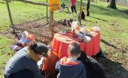 Crónica de la jornada de cuidado de árboles y celebración en San Martín de Toranzo. Fracking Cantabria