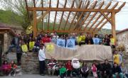 Buena acogida de la campaña informativa sobre el fracking en Valderredible. Abril 2014