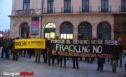 """Se entrega agua de """"fracking"""" a la Diputación de Burgos"""