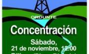 Concentración en la Sede de SHESA en Bilbao el sábado 21 de noviembre