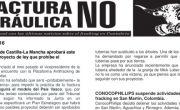 Publicada la hoja informativa de octubre de 2016. Cantabria. Fracking