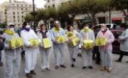 Entregadas 13.400 firmas contra el fracking en la Subdelegacíon, Diputación de Burgos y Junta de CyL