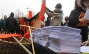 Entregadas más de 8000 alegaciones contra el sondeo de Repsol en San Martín de Toranzo. Fracking
